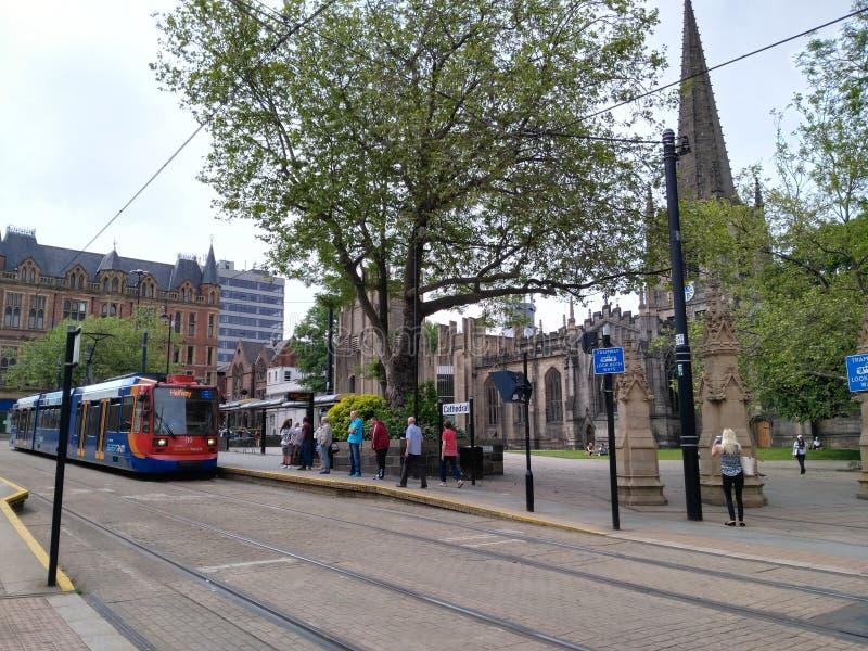 Catedral Sheffield fotos de stock
