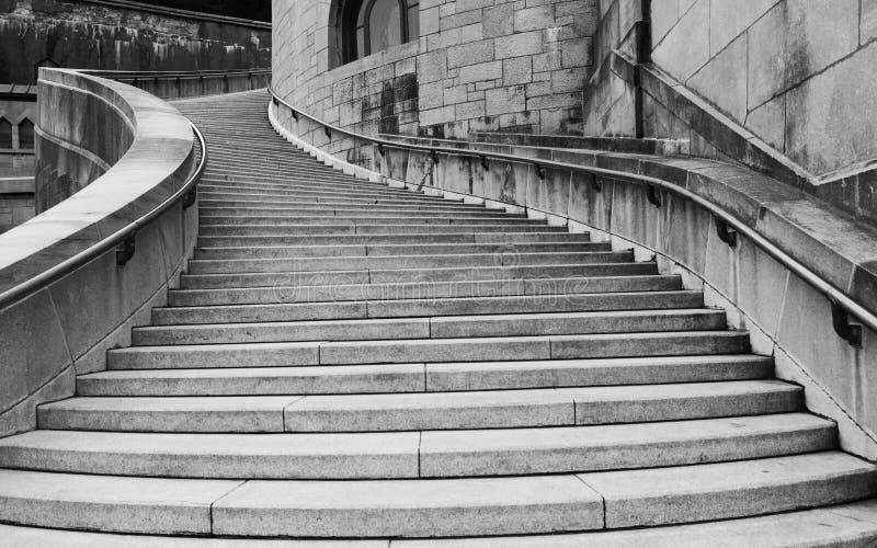 Catedral \ 'stairway de s foto de stock royalty free