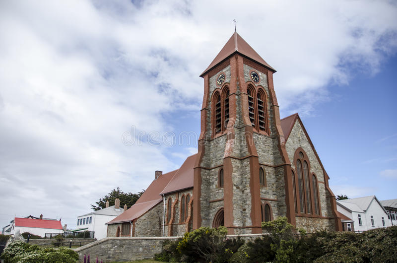 Catedral Stanley, Malvinas fotos de stock royalty free