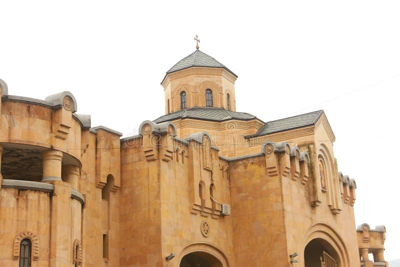 Catedral Tbilisi, Geórgia fotos de stock royalty free