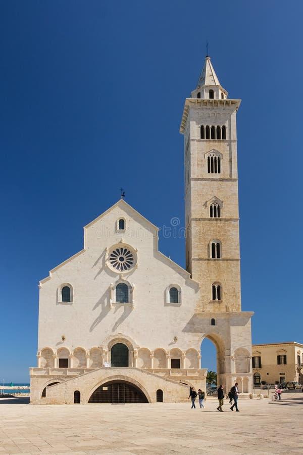A catedral Trani Apulia Italy foto de stock royalty free