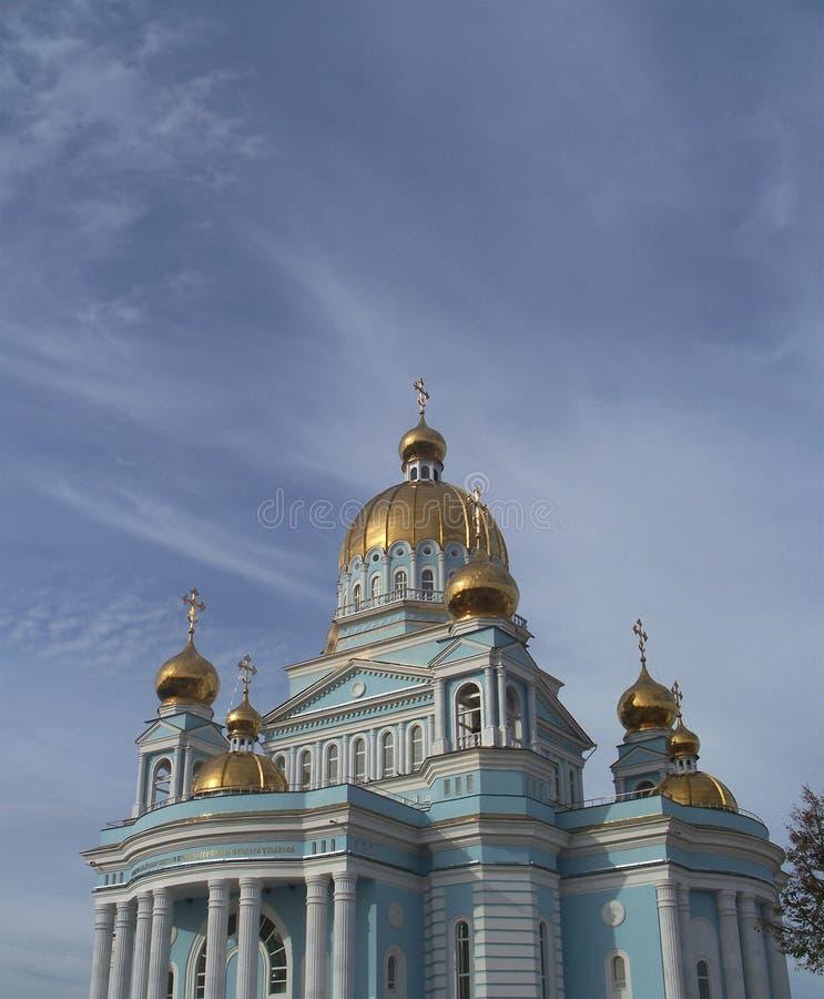 Catedral Ushakov em Rússia imagens de stock