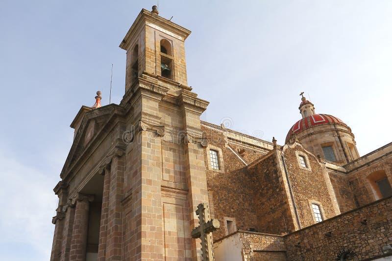 Catedral V de Tulancingo imagens de stock
