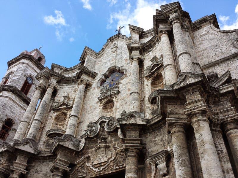 Catedral van Havana royalty-vrije stock foto's