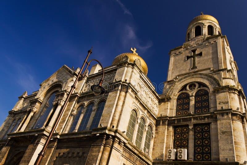 Catedral - Varna, Bulgária foto de stock royalty free