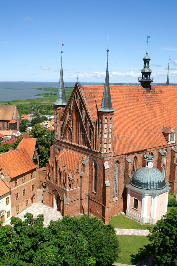 A catedral velha fotos de stock royalty free