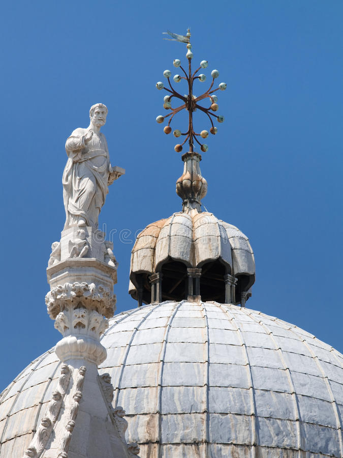 Catedral Veneza da marca do St. de Basílica di San Marco imagens de stock royalty free