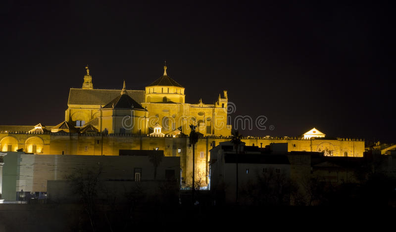Catedral y mezquita de Córdoba imagen de archivo libre de regalías