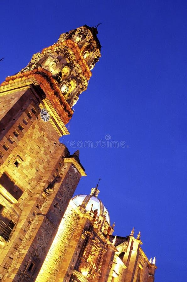 Catedral Zacatecas, México imagens de stock