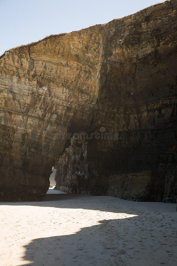 catedrales de las playa arkivbilder
