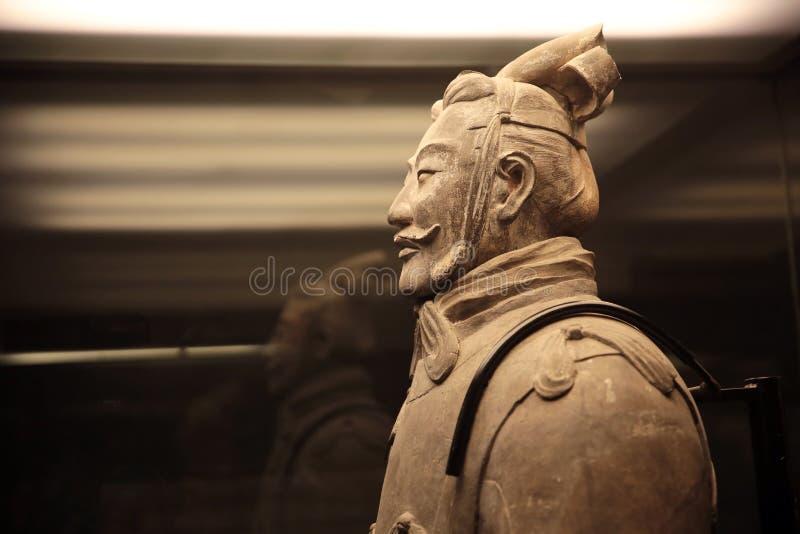Guerreros de la terracota de Xi'an en China fotografía de archivo