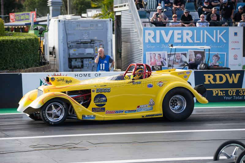 Categoria alterada Winternationals 2018 Ipswich Austrália imagens de stock