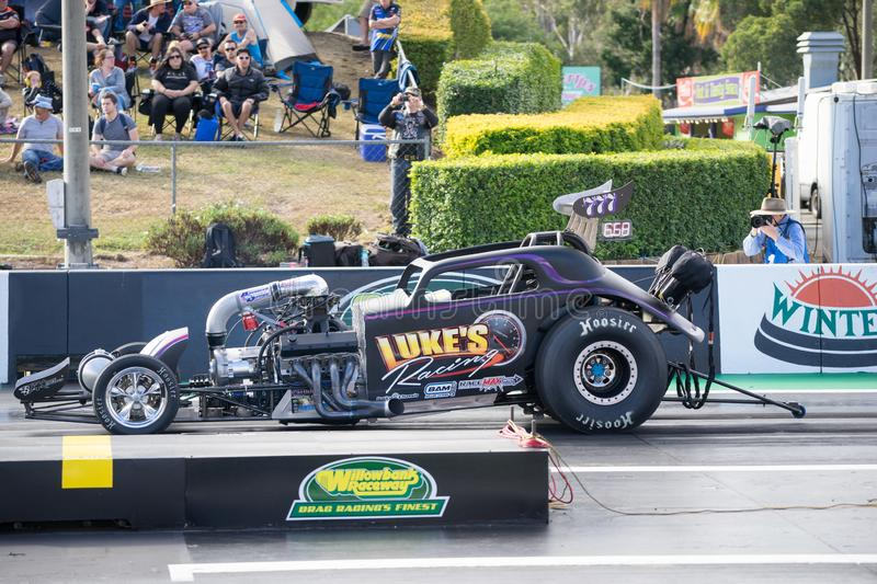 Categoria alterada Winternationals 2018 Ipswich Austrália imagem de stock