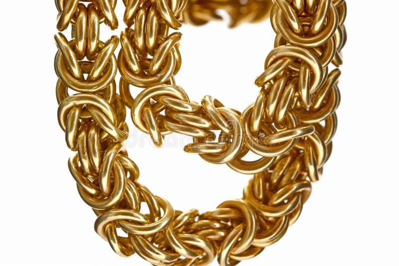 Catena dell'oro immagini stock libere da diritti