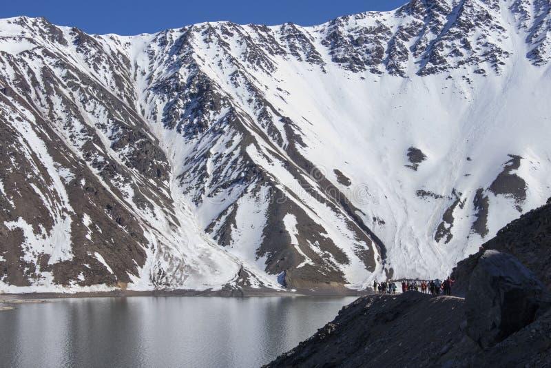 Catena montuosa delle Ande fotografia stock libera da diritti