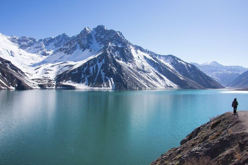 Catena montuosa delle Ande immagine stock libera da diritti