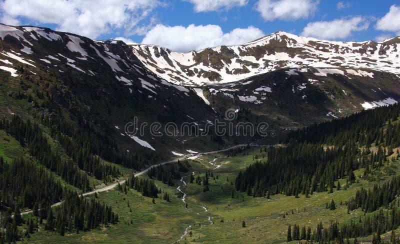 Catena montuosa di Colorado immagini stock libere da diritti