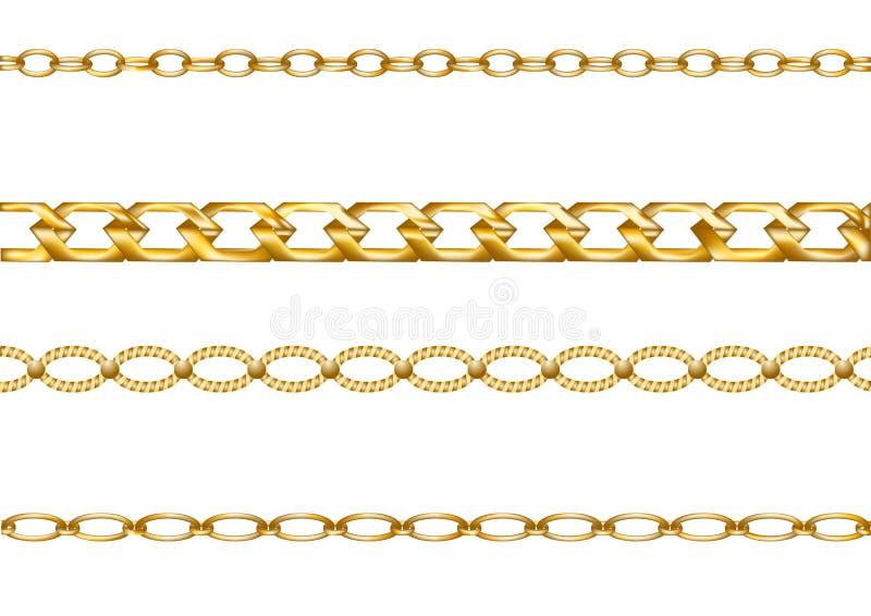 Catene dell'oro royalty illustrazione gratis