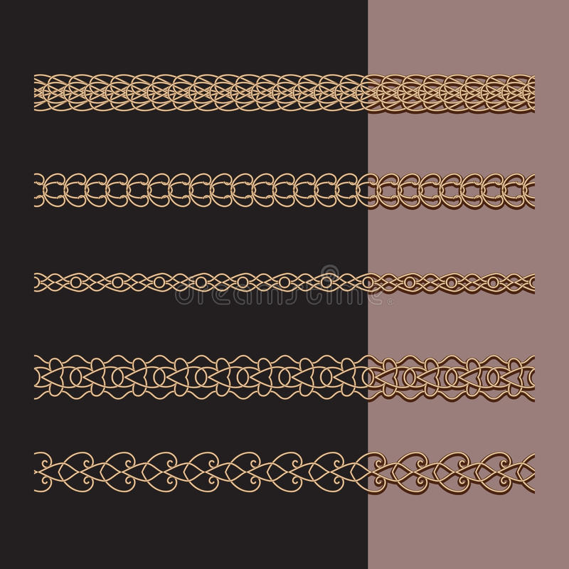 Catene dell'oro messe royalty illustrazione gratis