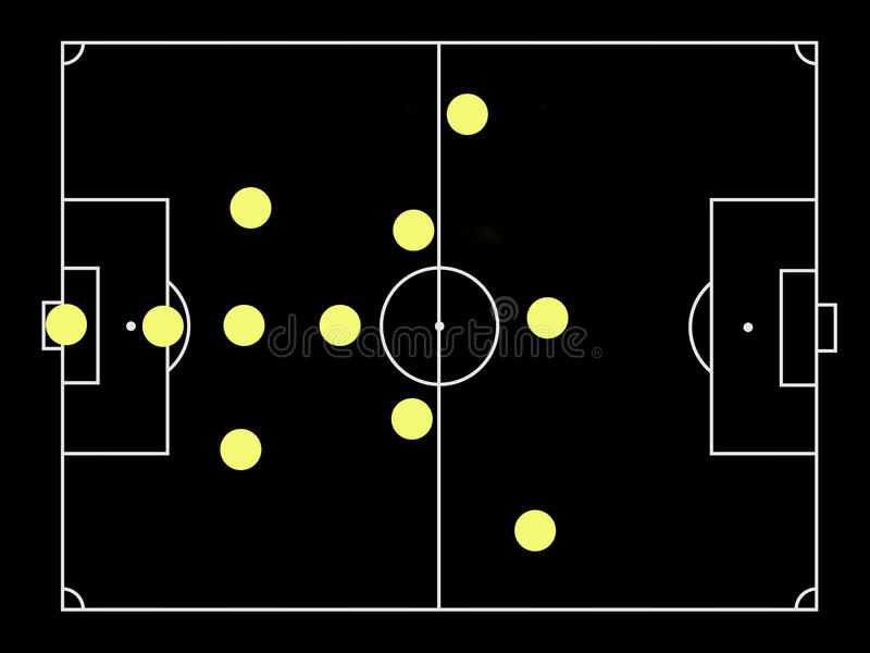 Download Catennacio Famous Soccer Tactics Stock Photo - Image of soccer, positional: 16442914