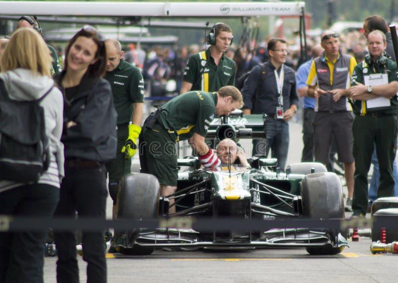 Caterham F1 royalty-vrije stock fotografie