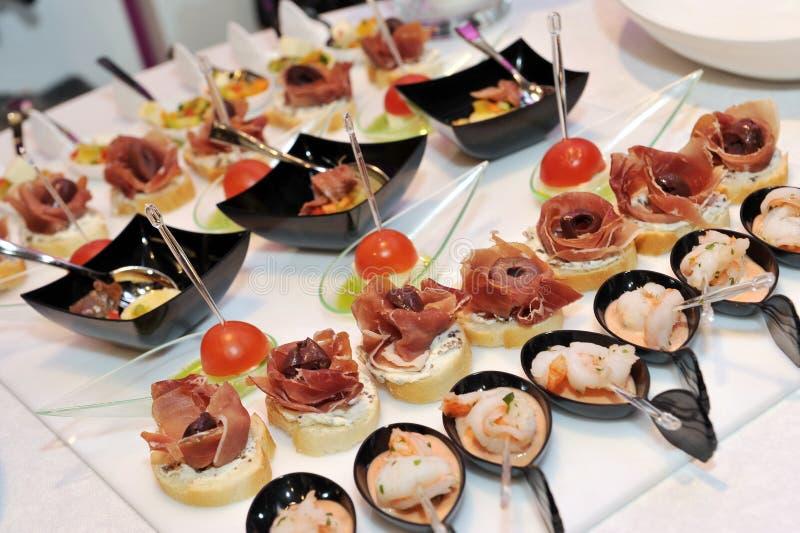 Catering stock fotografie