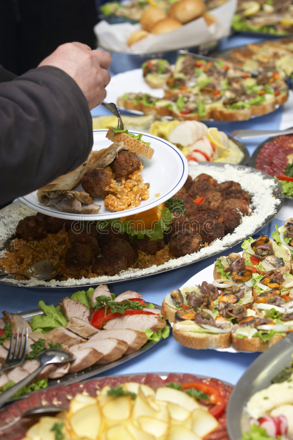 Catering 8 Stock Photography