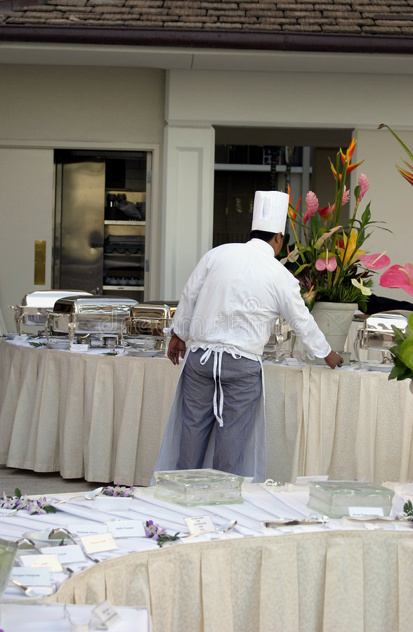 Catering Chef in the Workplace