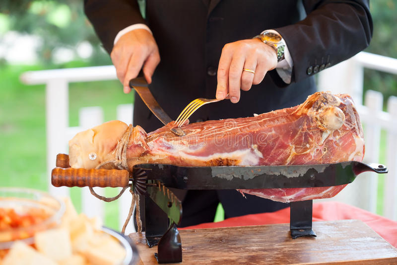 cut ham royalty free stock photos