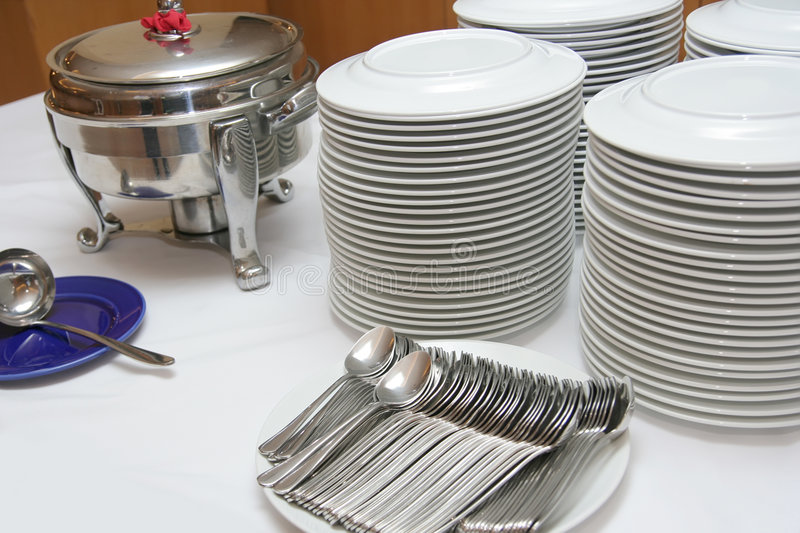 Catering industry stock image