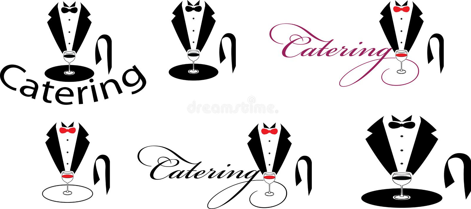 Catering royalty free illustration