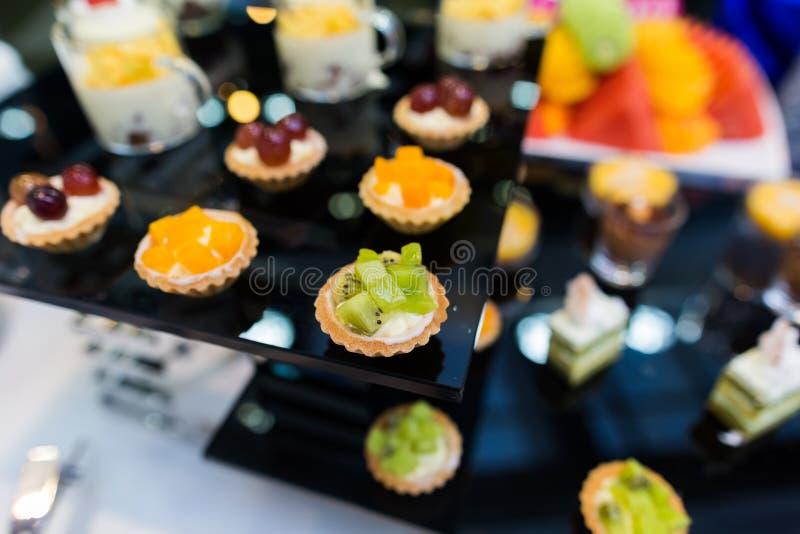 Cateringsvoedsel stock foto's