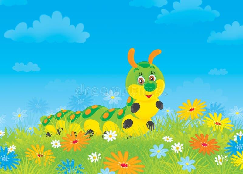Caterpillar ilustração stock