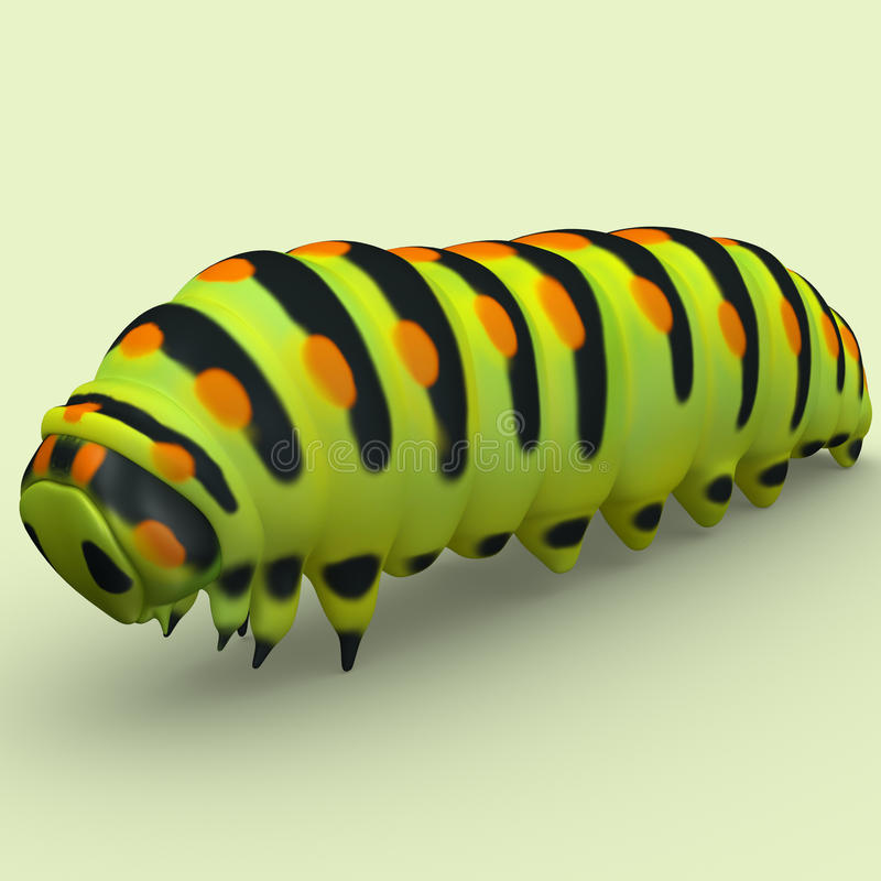 caterpillar royalty illustrazione gratis