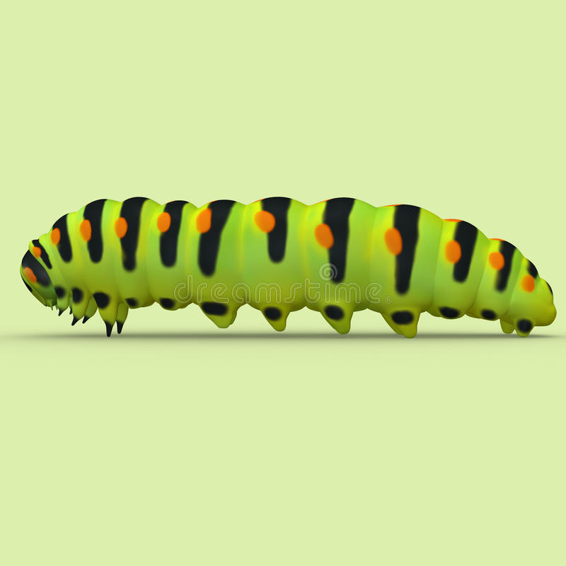 Caterpillar vector illustratie