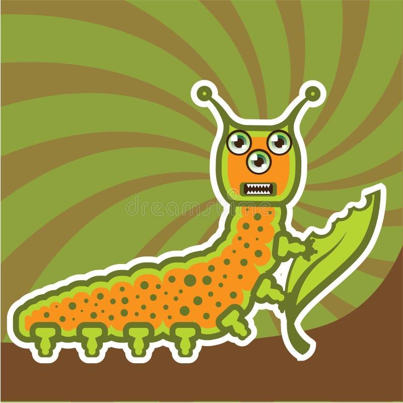 caterpillar illustrazione vettoriale