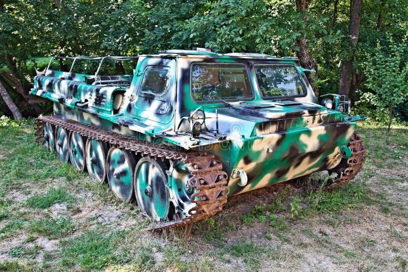 Download Caterpillar quad stock image. Image of camouflaged, platform - 34072247