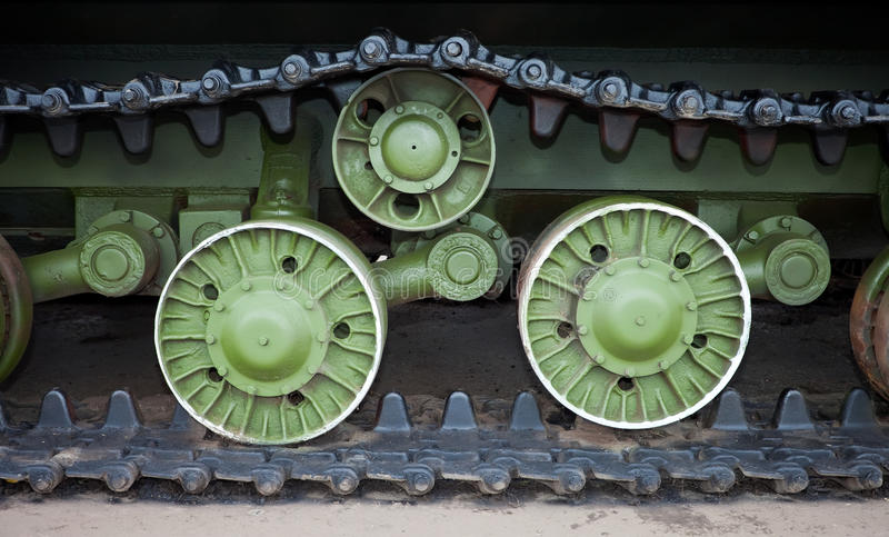 Download Caterpillars of the tank stock photo. Image of rugged - 22062570