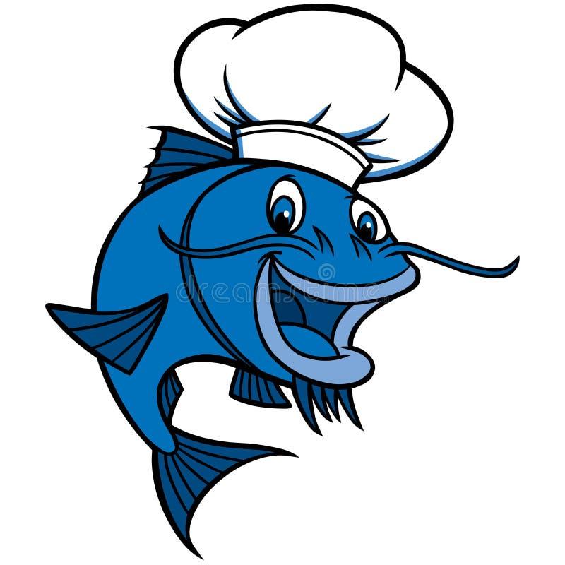 Free Catfish Chef Stock Images - 53745324