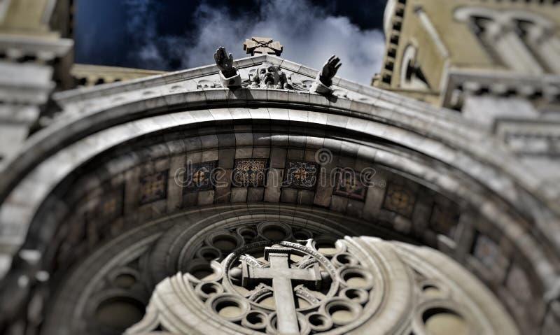 Cathédrale圣文森特de保罗 免版税库存图片