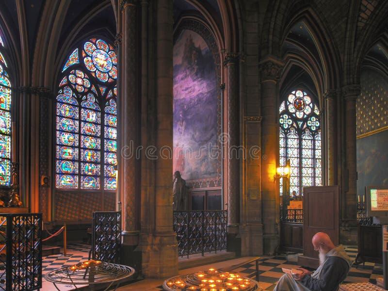 Cathédrale Notre Dame de Paris imagen de archivo libre de regalías