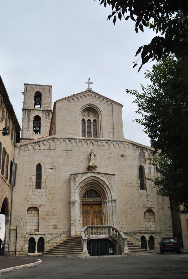 Cathédrale Notre Dame du Puy de Grasse στοκ εικόνες