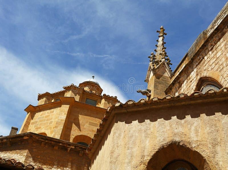 Cathédrale à Aix-en-Provence en France du sud photos stock