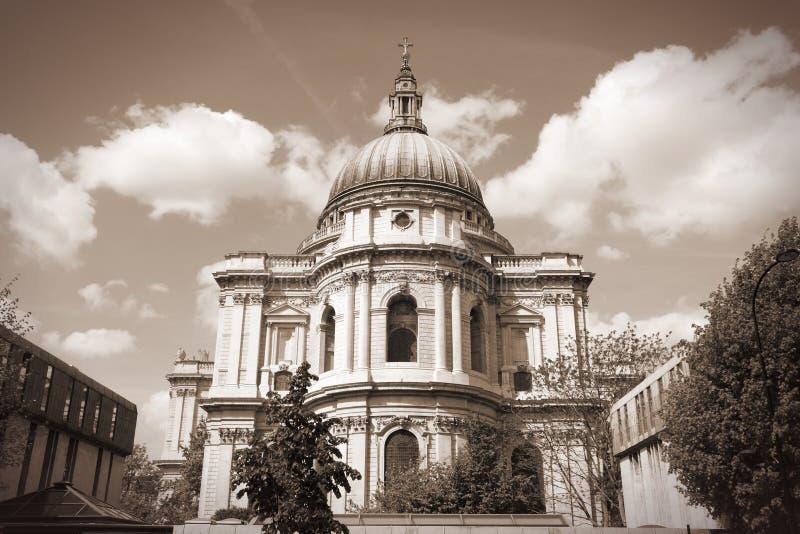 Cathédrale à Londres photos libres de droits