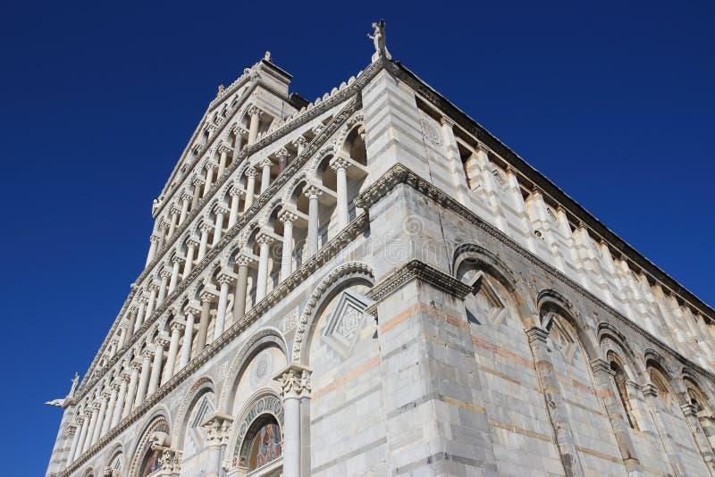 Cathédrale à Pise, Italie photographie stock