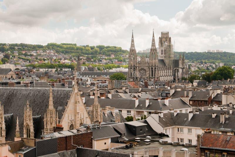 Cathédrale à Rouen, France photos stock
