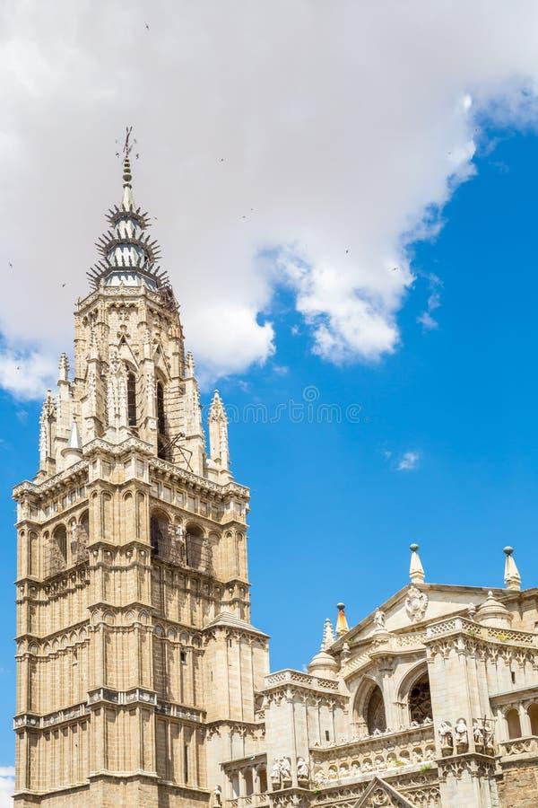 Cathédrale à Toledo Espagne photos stock