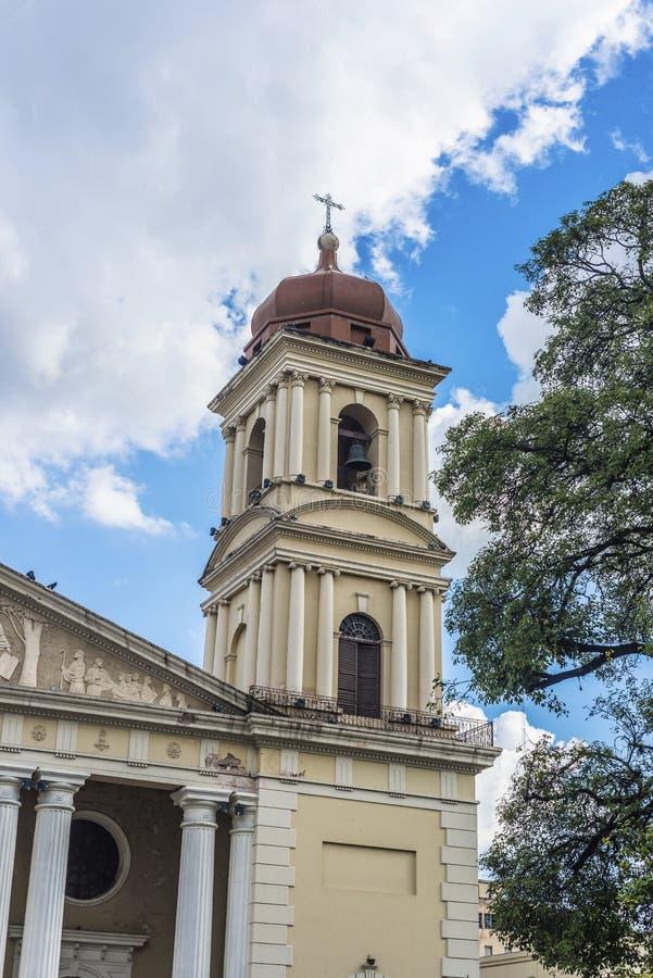 Cathédrale à Tucuman, Argentine images stock