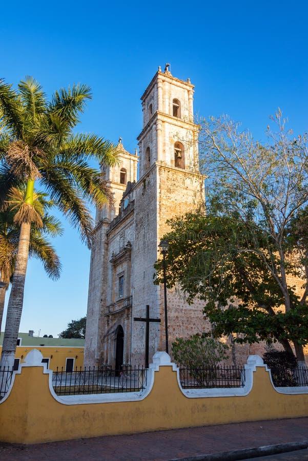 Cathédrale à Valladolid image stock