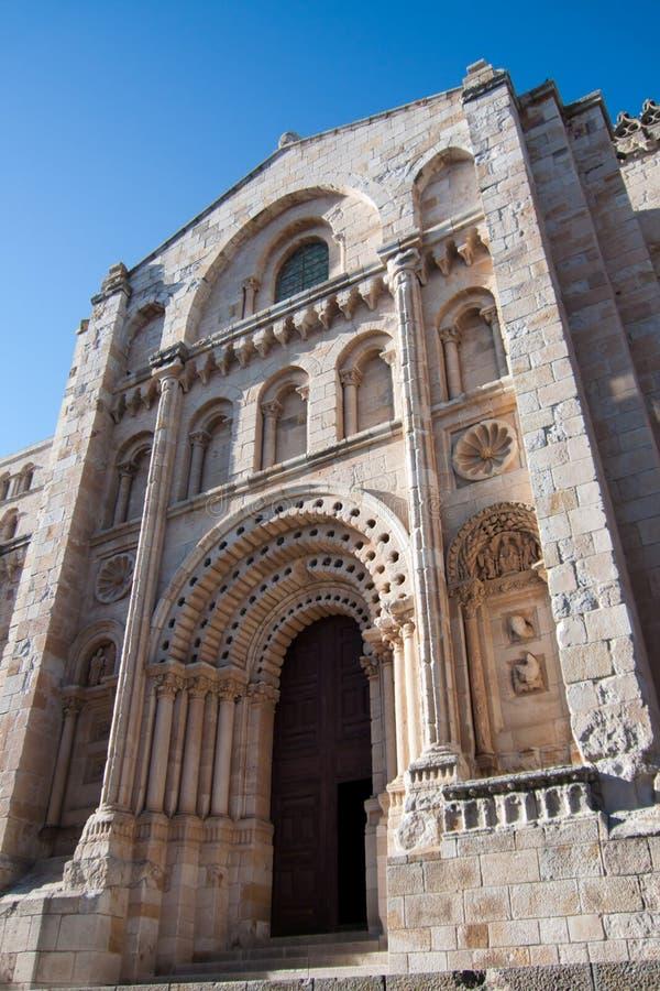 Cathédrale à Zamora image libre de droits